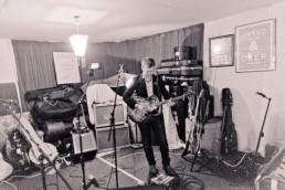 Glen at rehearsal