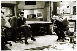 Glen with Steve Albini at EAR
