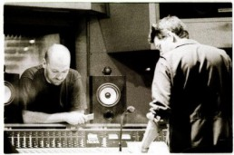 Craig Ward & Steve Albini recording The Frames at EAR