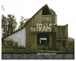 Winter 2007 European Tour poster - old barn