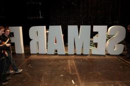 Frames big letters
