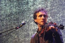 Colm with violin Live at the Marquee Cork June 2011