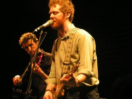 Glen and Colm on stage at Joe's Pub NYC Dec 2004