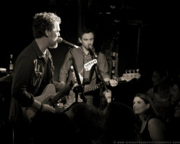 Glen and Joe on stage at Whelans