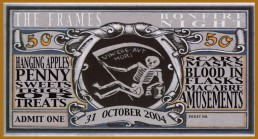 Halloween 2004 gig ticket