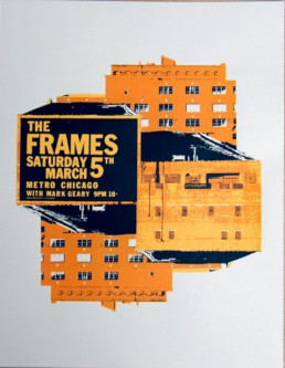 Metro Chicago March 2005 gig poster