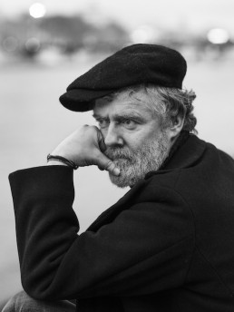 Glen portrait with hat