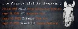 31st anniversary gigs schedule 2021